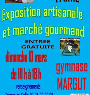 Exposition artisanale et marché gourmand