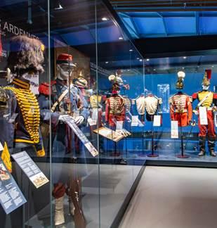 Visite du Musée Guerre et Paix en Ardennes