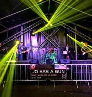 Concert Jo Has A Gun