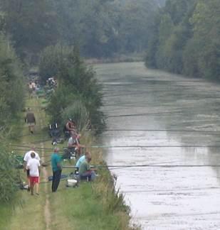 Concours de pêche de la société