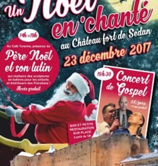 Un Noël En'Chanté au Château-Fort de Sedan: Le Père Noël au Château Fort