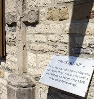 Croix du duel à Hierges