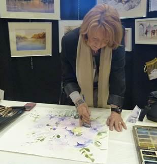 Nicole ZEIMET, aquarelliste