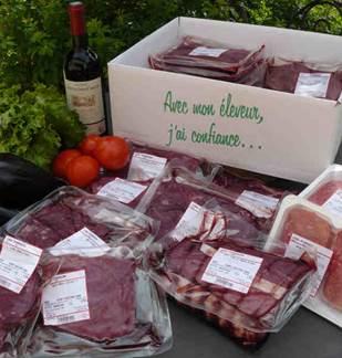 Vente directe de viande