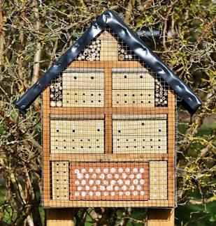 Atelier : construction d'un hôtel à insectes
