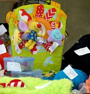 Bourse aux jouets, puériculture et vêtements