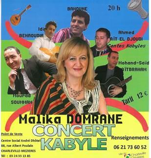 Concert de musique kabyle