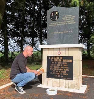 Visite du site de la bataille de la Fosse à l'Eau