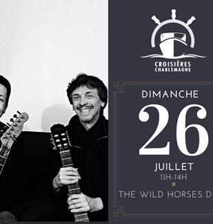 Croisière-repas avec The Wild Horses Duo