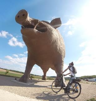 À vélo dans les Crêtes