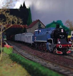 Exposition Train Miniature Givetois