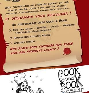 Cook & Book chez Plume et Bulle