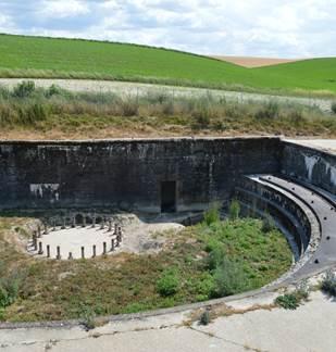 Site des vestiges du canon de marine allemand