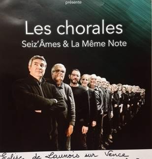 Les Chorales Seiz'Âmes et La Même Note