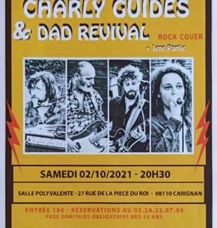 Concert Rock - Charly Guides & Dad Revival - 2 Octobre 2021