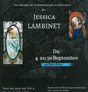 Exposition de Jessica Lambinet au Musée de la Métallurgie Ardennaise du 04 au 30 septembre 2017