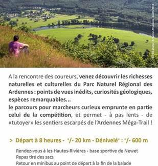 Les à-côtés de l'Ardennes Méga-Trail
