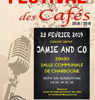 Festival des Cafés / Concert gratuit de