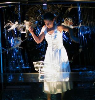 Marionnette : Diaphanie ou les mémoires d'une fée