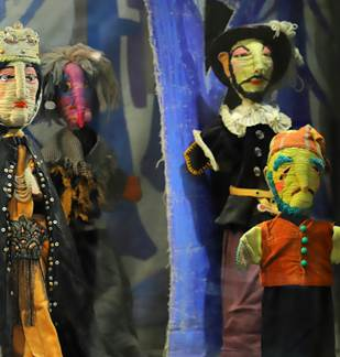 ExpositionLa marionnette est un don