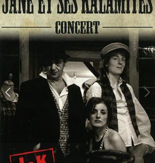 Concert : Jane et ses Kalamités
