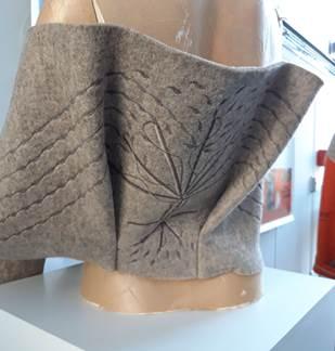 Exposition Défi Laine au musée-atelier du Feutre