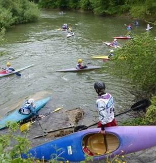 Initiation au canoe kayak  adultes et enfants