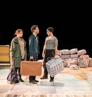 Théâtre : Le garçon à la valise