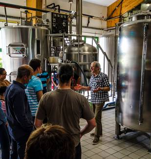 Journée dans les Crêtes Préardennaises : Visite de la Brasserie Ardwen, déjeuner et visite de la cave de Gironval