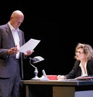 Théâtre : La brigade financière