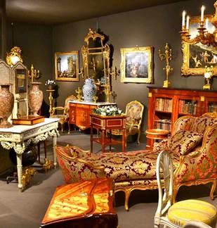 Salon de l'Antiquité et de la Brocante au Relais de Poste de Launois
