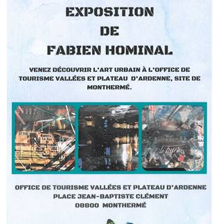 Exposition de Fabien Hominal à Monthermé
