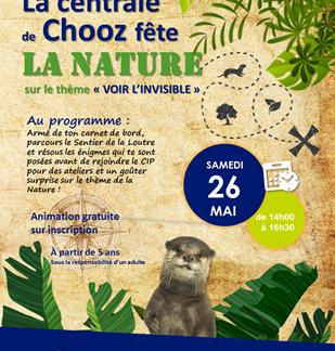 La centrale de Chooz fête la nature