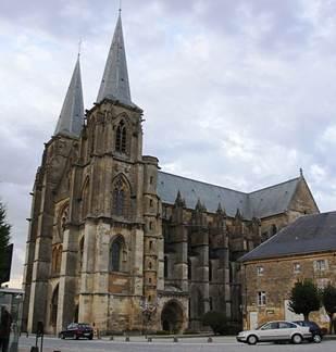 Journées du Patrimoine: Découverte de l'Eglise-Abbatiale de Mouzon