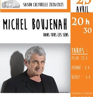 Michel Boujenah dans tous les sens