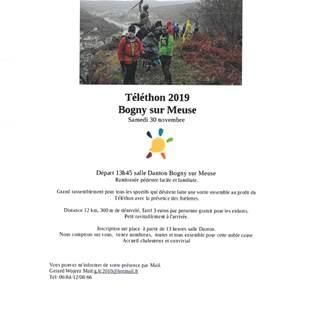 Téléthon 2019 randonnée