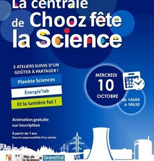 La centrale de Chooz fête la Science