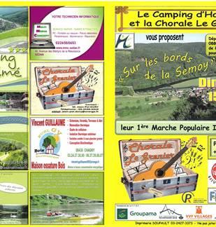 1ère Marche populaire internationale avec le Camping d'Haulmé