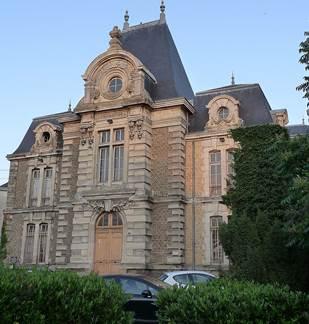 L'ancien Tribunal de Rethel