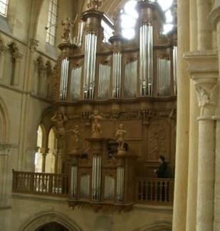 Concert d'orgue à l'Abbatiale de Mouzon