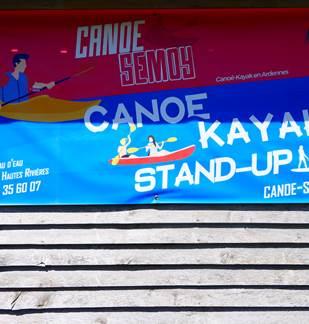 Canoë Semoy