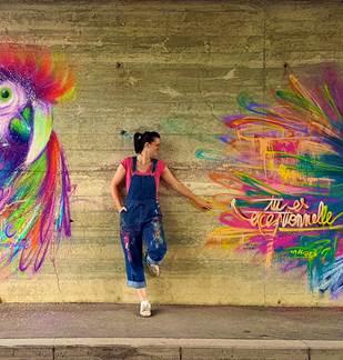 Parcours street-art de Cynthia Dormeyer