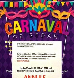 Carnaval de Sedan ANNULÉ