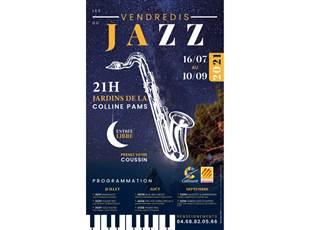Les Vendredis Jazz au Parc Pams-20/08