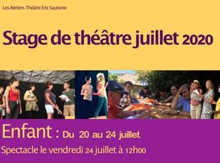 Stage de Théâtre - Enfants