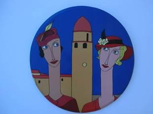 Atelier  Claudie Radelet et Patrice Laouenan- Art Collioure