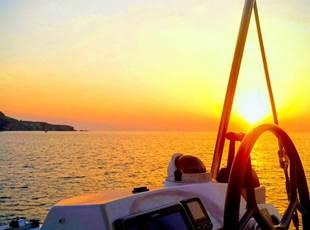 Nuit sur un voilier catamaran