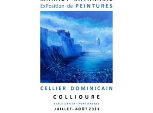 Exposition peinture Cellier des Dominicain