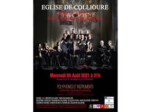 Concert coral capella - Eglise de Collioure