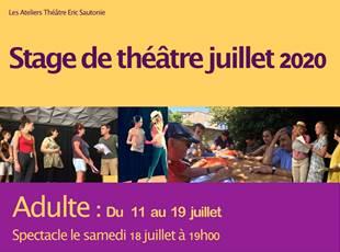 Stage de Théâtre - Adultes